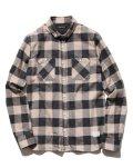 SABLE CLUTCH(セーブルクラッチ) リトルBD チェックフランネルシャツ BEG