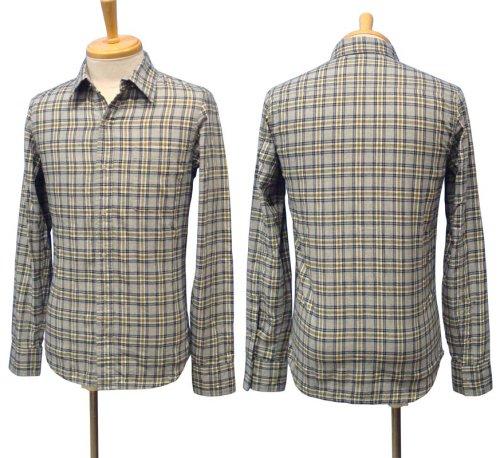 他の写真1: 【50%OFF!!SALE!!】PARANOID(パラノイド) リングドットボタン チェックシャツ LT.GRY