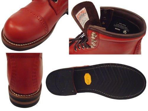 他の写真2: BROTHER BRIGE(ブラザーブリッジ) GUADIANA ストレートチップブーツ RED