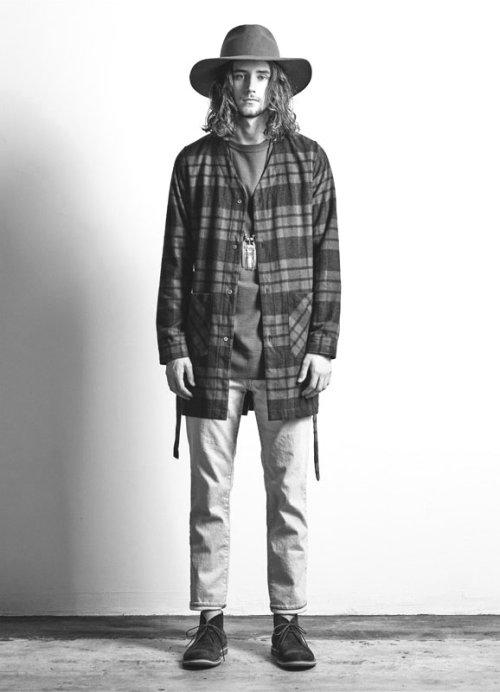 他の写真3: 【50%OFF!!SALE!!】Magine(マージン) コットンシャギーチェック ローブシャツ BLK