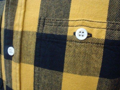 他の写真2: PARANOID(パラノイド) バッファローチェック ネルシャツ YEL