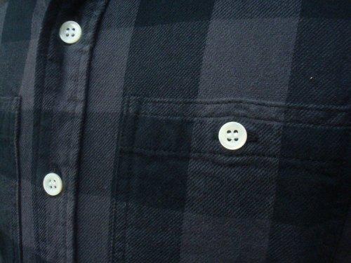 他の写真2: PARANOID(パラノイド) バッファローチェック ネルシャツ GRY