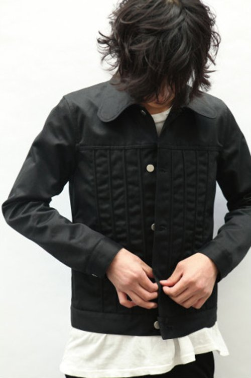 他の写真3: 【30%OFF!!SALE!!】ORIGINAL JOHN(オリジナルジョン) SWELL STRING JACKET BLK