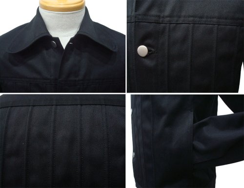 他の写真2: 【50%OFF!!SALE!!】ORIGINAL JOHN オリジナルジョン SWELL STRING JACKET BLK
