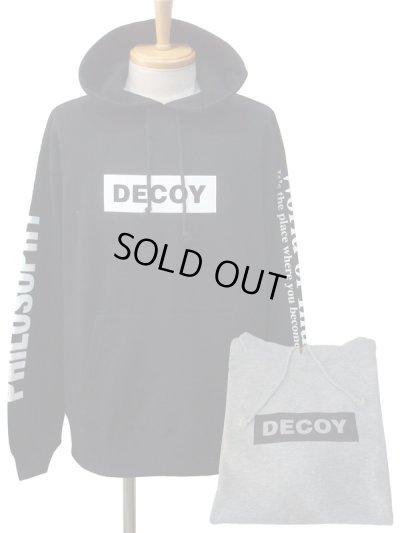画像1: DECOY&CO. デコイアンドシーオー World of Illution Hoodie パーカー