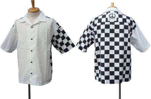 他の写真1: PROPA9ANDA プロパガンダ VICTOR CHECKER S/Sシャツ WHT