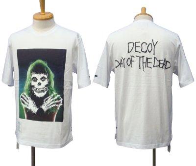 """画像2: DECOY&CO. デコイアンドシーオー """"DAY OF THE DEAD"""" S/S Tシャツ"""