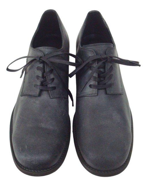 """他の写真1: ISAMU KATAYAMA BACKLASH イサムカタヤマ バックラッシュ""""BOLSTER"""" イタリーホースバット レザーソール短靴 BLK"""