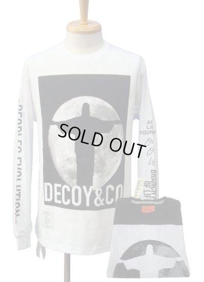 画像1: DECOY&CO. デコイアンドシーオー Jesus and Moon ロングスリーブ Tシャツ