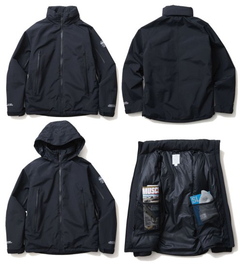 他の写真1: CRIMIE クライミー 防水3レイヤーXシリーズ TOWN & SNOW シンサレートインナーフードジャケット