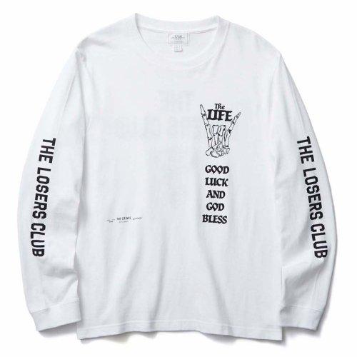 他の写真1: CRIMIE クライミー LOSERS CLUB ロングスリーブ Tシャツ WHT