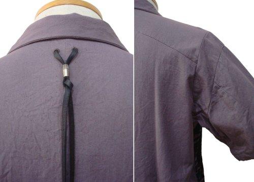 他の写真2: STRUM ストラム コットンツイル グランジウォッシュ 製品洗い 開襟シャツ PPL