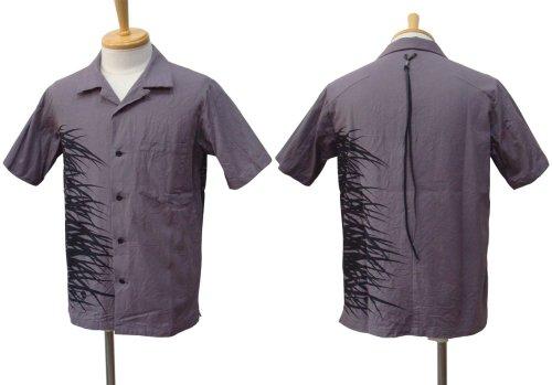 他の写真1: STRUM ストラム コットンツイル グランジウォッシュ 製品洗い 開襟シャツ PPL