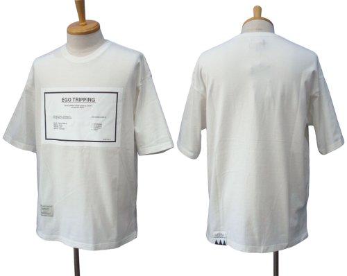 """他の写真1: EGO TRIPPING エゴトリッピング """"PASTING"""" Tシャツ"""