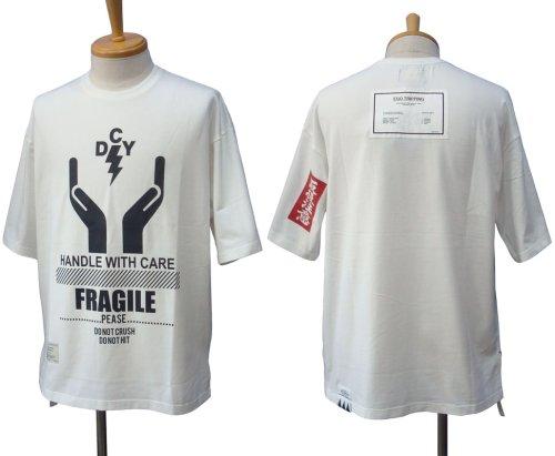 """他の写真1: EGO TRIPPING エゴトリッピング × DECOY """"取扱注意"""" Tシャツ"""