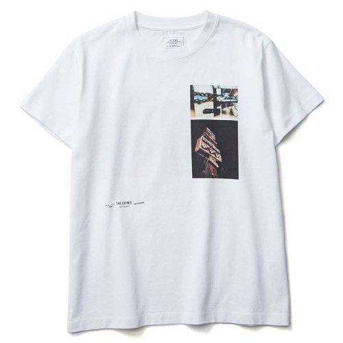他の写真1: CRIMIE クライミー フォトTシャツ WHT