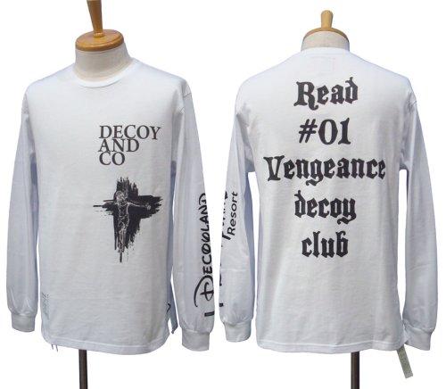 他の写真1: DECOY&CO. デコイアンドシーオー Vengeance Resort ロングスリーブ Tシャツ