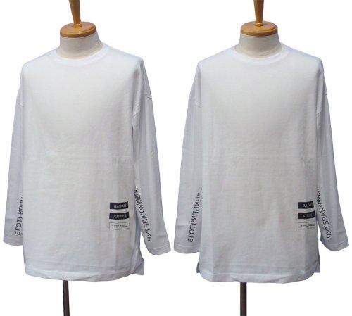 """他の写真1: EGO TRIPPING エゴトリッピング """"E. ICON"""" ロングスリーブ Tシャツ"""