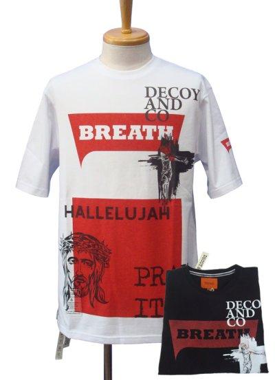 画像1: DECOY&CO. デコイアンドシーオー Pray With Breath Tシャツ