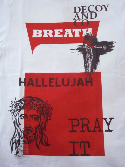 他の写真2: DECOY&CO. デコイアンドシーオー Pray With Breath Tシャツ