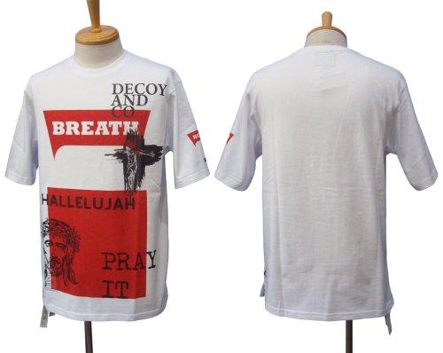 他の写真1: DECOY&CO. デコイアンドシーオー Pray With Breath Tシャツ