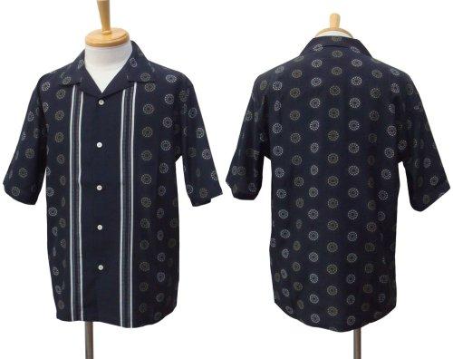 他の写真1: EGO TRIPPING エゴトリッピング 50's パネル アロハシャツ BLK
