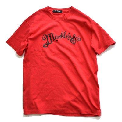 画像1: Marbles マーブルズ NEO-LOGO OG TEE RED