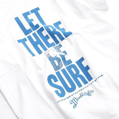 他の写真2: Marbles マーブルズ LET THERE BE SURF TEE WH/BL