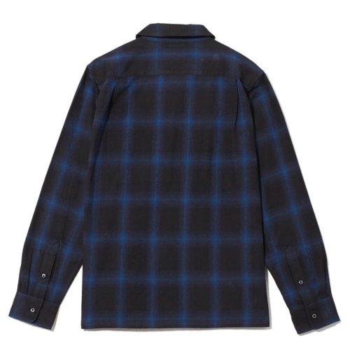 他の写真2: CRIMIE クライミー オンブレチェックネルシャツ BLU