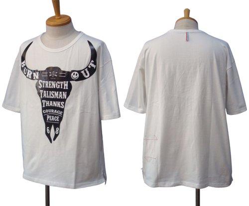 他の写真1: Burnout バーンアウト バッファロー Tシャツ