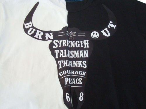 他の写真2: Burnout バーンアウト バッファロー Tシャツ
