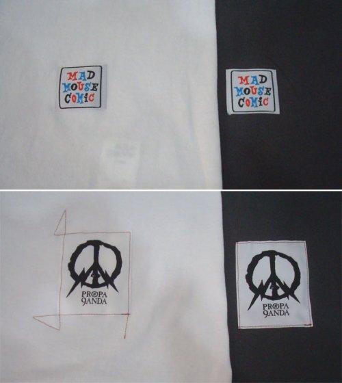 他の写真3: PROPA9ANDA プロパガンダ × MAD MOUSE COMIC マッドマウスコミック PEKE-PERO SKULL Tシャツ