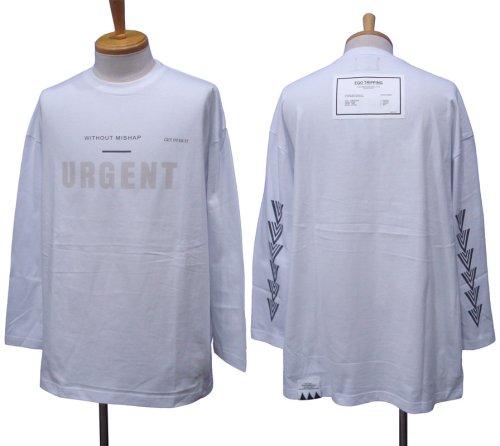 他の写真1: EGO TRIPPING エゴトリッピング URGENT ロングスリーブ Tシャツ