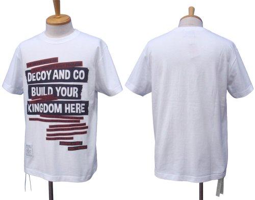 他の写真1: DECOY&CO. デコイアンドシーオー Your Kingdom Tシャツ