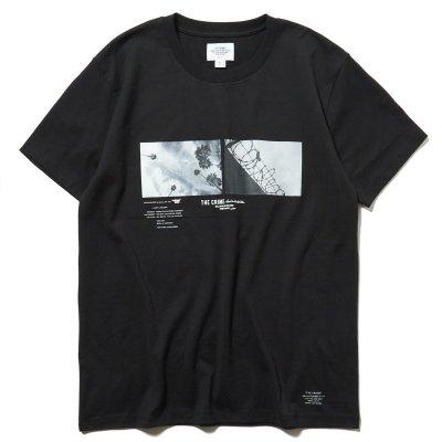 画像1: CRIMIE クライミー CALI フォトTシャツ BLK