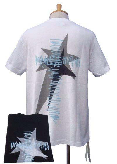 画像1: DECOY&CO. デコイアンドシーオー Star Cross Tシャツ