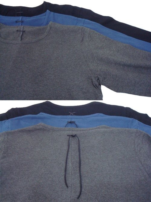 他の写真2: STRUM ストラム 30/- ナチュラルソフト天竺 製品洗いタンブラー仕上げ ロングスリーブ カットソー