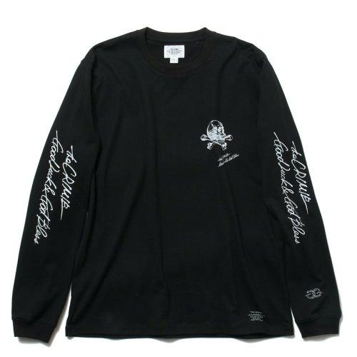 他の写真2: CRIMIE クライミー スカルレタリングロゴ ロングスリーブ Tシャツ BLK