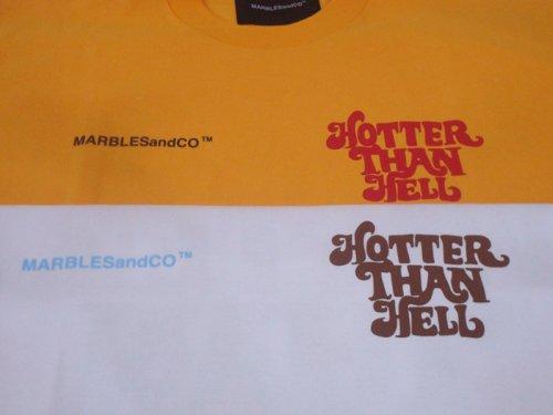 """他の写真3: Marbles マーブルズ """"HOTTER THAN HELL"""" STANDARD TEE"""