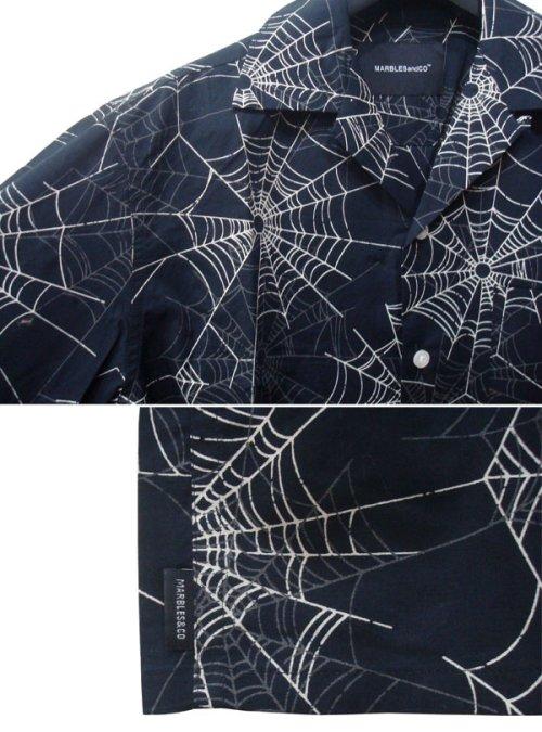 他の写真2: Marbles マーブルズ SPIDER シャツ BLK