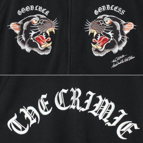 他の写真3: CRIMIE クライミー パンサー刺繍 ジャージトラックジャケット BLK