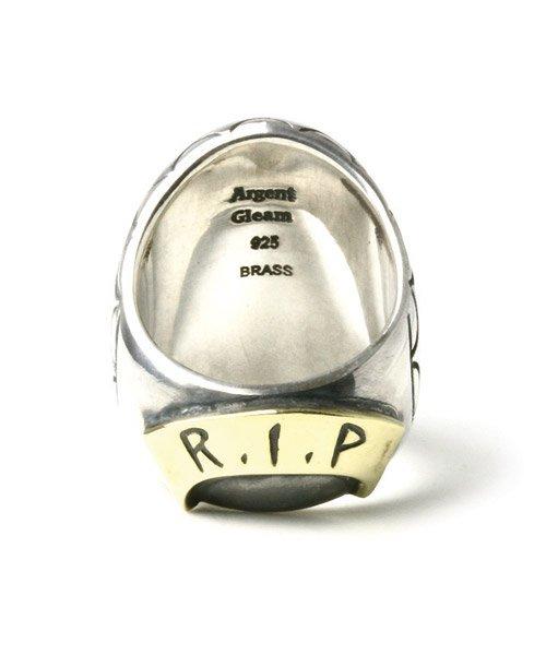 他の写真2: 【取り寄せ商品】Argent Gleam(アージェントグリーム) メキシカンスカルリング (Silver)
