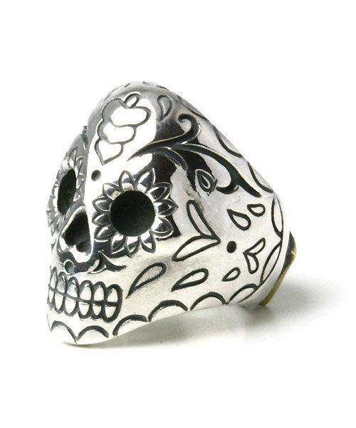 他の写真1: 【取り寄せ商品】Argent Gleam(アージェントグリーム) メキシカンスカルリング (Silver)